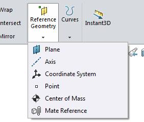 Reference Geometry Toolbar